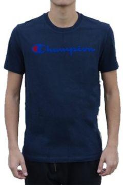 T-shirt Champion Blu(115478052)