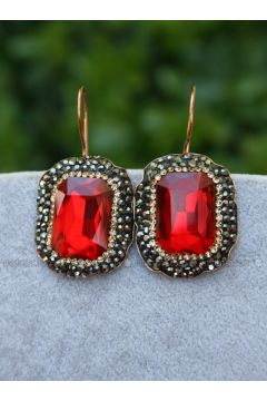 Red - Earring - Stoneage(110319293)