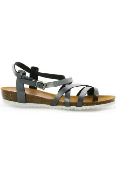Sandales Pao Nu pieds cuir plomb(98508065)