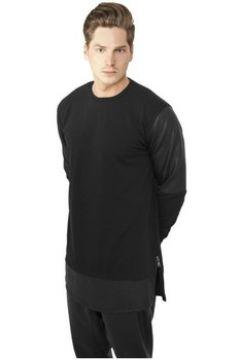 Sweat-shirt Urban Classics Sweat long à manches simili(127965943)