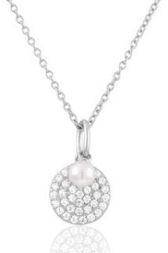 Collier Perle De Nuit Collier en Argent 925/1000 et Perle Blanche Femme(115448025)