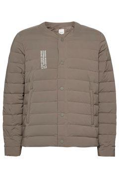 Keanu Light Padded Jacket Gefütterte Jacke Grün WOOD WOOD(118370400)