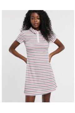 Urban Bliss - Vestito a righe con zip sul davanti-Multicolore(123214147)