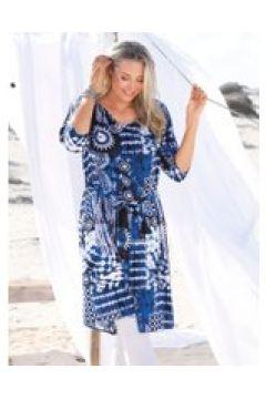 Kleid MIAMODA Blau/Weiß(111503439)