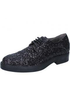 Ville basse Janet Janet élégantes noir glitter BY753(115401582)