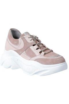 Dr.Flexer 206103 Hakiki Deri Kadın Comfort Ayakkabı Pudra Süet(120674349)