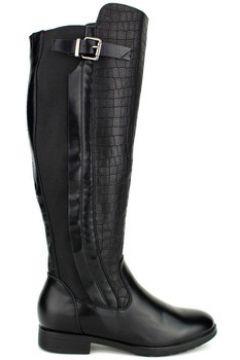 Bottes Cendriyon Bottes Noir Chaussures Femme(115425415)