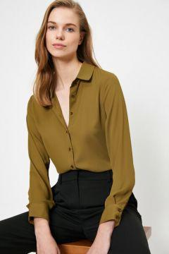 Koton Kadın Klasik Yaka T-Shirt(125149190)
