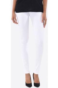 Chinots Kebello Jeans Slim F Blanc(115441467)