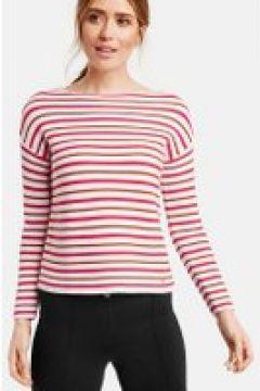Sweter w modne paski Multicolor 48/XL(115897168)