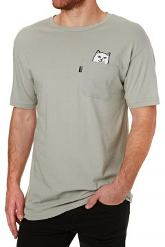 Rip N Dip Lord Nermal Pocket Kurzarm-T-Shirt - Heather Grey(107851594)