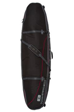 Ocean and Earth Double Coffin Shortboard Surfboard Bag - Black(110360078)