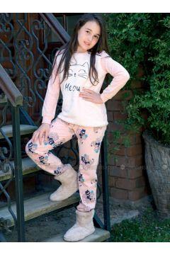 Pink - Crew neck - Multi - Kids Pijamas - ANIL(110313681)