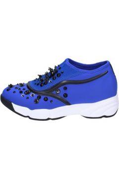 Chaussures Uma Parker slip on bleu textile BT562(115442836)