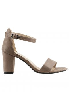 Ayakland Vizon Kadın Topuklu Ayakkabı(124206550)