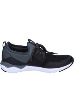 Chaussures Lumberjack sneakers noir textile gris cuir BT714(115442894)
