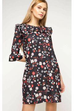 DeFacto Kadın Fırfır Detaylı Elbisesi(108638024)