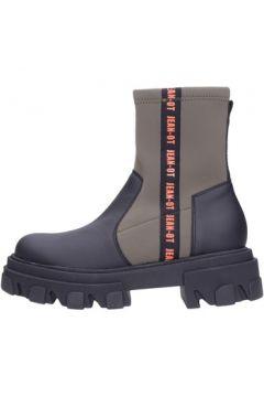 Boots Jeannot - Tronchetto black/milit 75311(101788323)