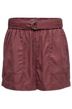ONLY Lockeres Shorts Damen Rot(116473785)