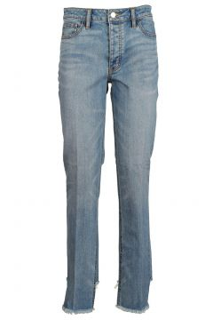Damen gerade strechthose jeans(118071352)