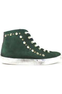 Chaussures Beverly Hills Polo Club POLO sneakers vert daim clous AJ12(115399675)