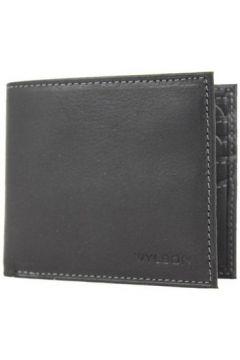 Portefeuille Wylson Porte cartes ultra plat en cuir mat Rio Noir(115545333)