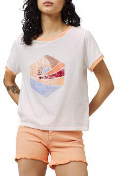 T-Shirt à Manche Courte Femme O\'Neill Katie - Powder White(117375085)