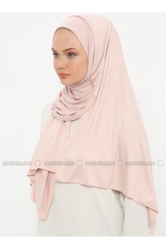 Powder - Plain - Pinless - Instant Scarf - Ecardin(110333509)