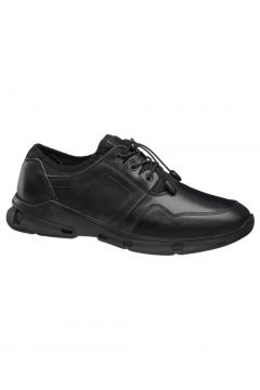 Claudio Conti Deichmann Hakiki Deri Erkek Siyah Sneaker(120452804)