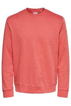 ONLY & SONS Bedrucktes Sweatshirt Herren Rot(109116191)