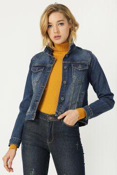 Fashion Friends Mavi Ceket(122706341)
