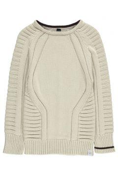 Einfarbiger Pullover aus Bio-Baumwolle(112328238)