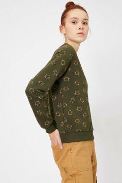 Koton Kadın Baskili Sweatshirt(113406232)
