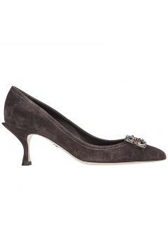 Women's suede pumps court shoes high heel lori(116788916)