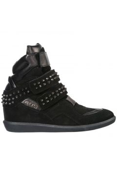 Women's shoes high top suede trainers sneakers(118073966)
