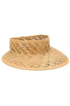 Helene Berman London Kadın Bej Sepet Dokulu Hasır Şapka EU(114438705)