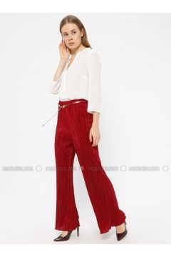 Maroon - Pants - Le Mirage(110338963)