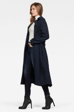 Denim Loose Trench(109241447)