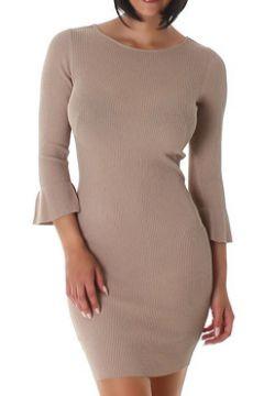 Robe Cendriyon Robes Taupe Vêtements Femme(115425295)