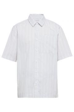 Boxy Shirt Kurzärmliges Hemd Weiß HAN KJØBENHAVN(108574198)
