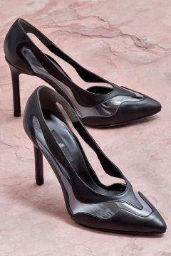 Elle Shoes BLAGUN Siyah Kadın Topuklu Ayakkabı(121272830)