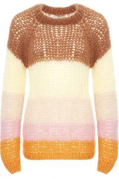 Mohair Pullover mit breiten Streifen(117291998)