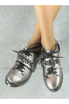 Silver Tone - Casual - Shoes - Marjin(110338314)