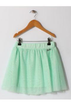 Barbie Tüllü Su Yeşili Çocuk Etek(113960479)