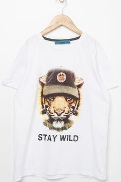 Funky Rocks Beyaz T-Shirt(113994615)