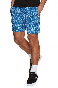 Brixton Steady Elastic Waistband Spazier-Shorts - Royal White(114803158)