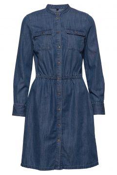 Denim Dress Kleid Knielang Blau MARC O\'POLO(109242977)