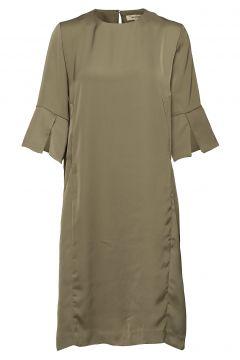 Lilian Dress Kleid Knielang Grün WHYRED(114163588)
