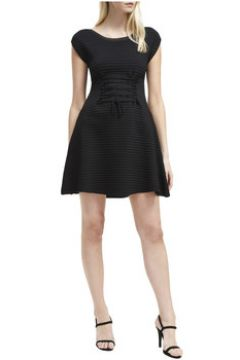 Robe French Connection Robe rayée manches courtes(98488072)