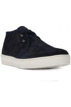 Boots Frau SUEDE BLU(115637598)